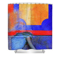 Shower Curtain featuring the photograph Hosed by Newel Hunter