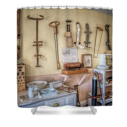 Hospital Museum Shower Curtain by Adrian Evans