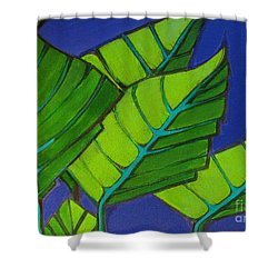 Hosta Blue Tip One Shower Curtain