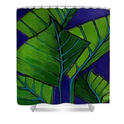 Hosta Blue Tip Two Shower Curtain