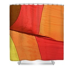 Hot Air Balloon Shower Curtain by Art Block Collections