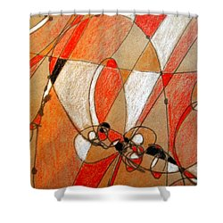 Hot Air Ballooning Shower Curtain by Nancy Kane Chapman