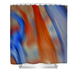 Hot And Cold Mixing Shower Curtain by Greg Kluempers
