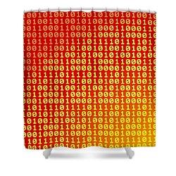 Hot Bits Shower Curtain by Gaspar Avila