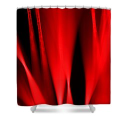 Hot Blooded Series Part 1 Shower Curtain by Dazzle Zazz