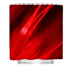 Hot Blooded Series Part 3 Shower Curtain by Dazzle Zazz