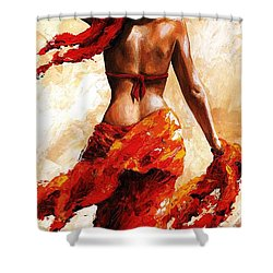 Hot Breeze #02 Shower Curtain