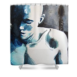Hot Child In The City Shower Curtain