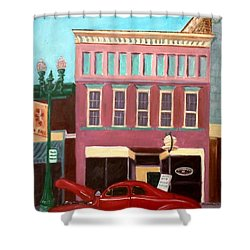 Hot Coffee Shower Curtain by Stacy C Bottoms