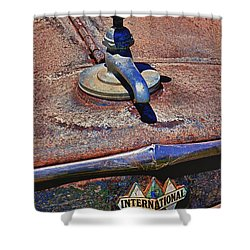 Hot Faucet Hood Ornament Shower Curtain