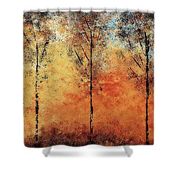 Hot Hillside Shower Curtain