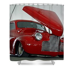 Shower Curtain featuring the photograph Hot In Red by Shoal Hollingsworth