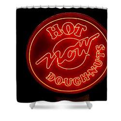 Hot Now Krispy Kreme Shower Curtain