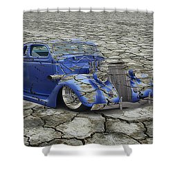 Hot Rod Mirage Shower Curtain
