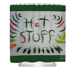 Hot Stuff Shower Curtain
