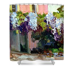 Hotel Baudy Wisteria Shower Curtain