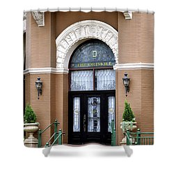 Hotel Door Entrance Shower Curtain