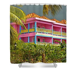 Hotel Jamaica Shower Curtain