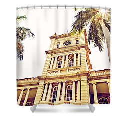 House Of Heavenly Kings Shower Curtain by Scott Pellegrin