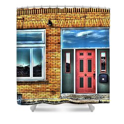 House Reflections Shower Curtain
