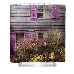 House - Victorian - A House To Call My Own  Shower Curtain by Mike Savad