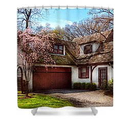 House - Westfield Nj - Who Doesn't Love Spring  Shower Curtain by Mike Savad