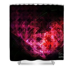 How Can You Mend A Broken Heart? Shower Curtain by Elizabeth McTaggart
