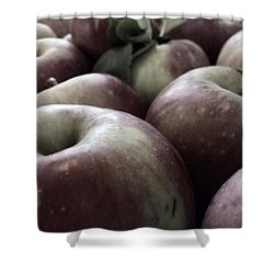 Shower Curtain featuring the photograph How Do You Like Them Apples by Photographic Arts And Design Studio