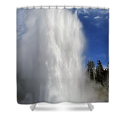 How Grand It Is Shower Curtain