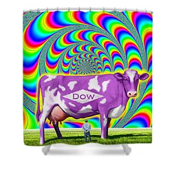 How Now Dow Cow? Shower Curtain by Scott Ross