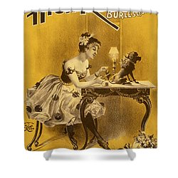How The High Roller Girls Do It Shower Curtain by Aged Pixel