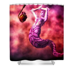 How To Catch Mermaids Shower Curtain by Bob Orsillo