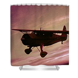 Howard Dga Shower Curtain by Greg Reed