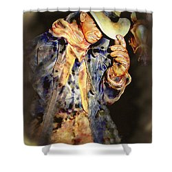 Howdy Mam How Do You Do Shower Curtain