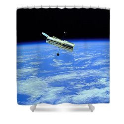 Hubble Space Telescope Shower Curtain
