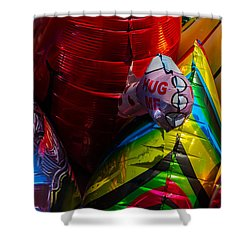 Hug Me - Featured 3 Shower Curtain by Alexander Senin