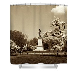 Hugh Mercer In Springtime II Shower Curtain