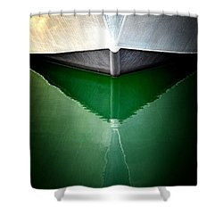 Hull Abstract 3 Shower Curtain
