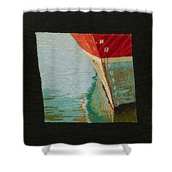 Waterline Shower Curtain by Jenny Williams