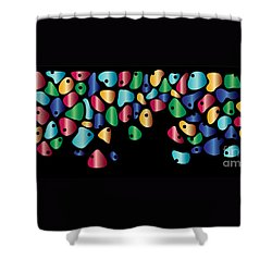 Humanity Shower Curtain