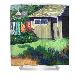 Humble Elegance Shower Curtain by Linda Mears