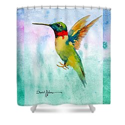 Da202 Hummer Dreams Revisited By Daniel Adams Shower Curtain