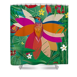 Hummingbird - Limited Edition  Of 10 Shower Curtain