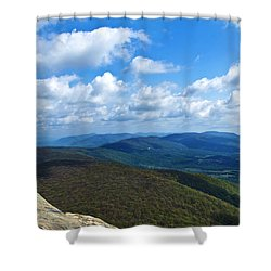 Humpback Rocks View North Shower Curtain