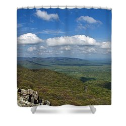 Humpback Rocks View South Shower Curtain