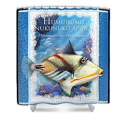 Humuhumunukunukuapua'a Shower Curtain