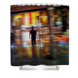 Shower Curtain featuring the photograph Hunter-gatherer by Alex Lapidus