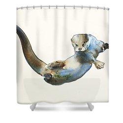 Hunter Shower Curtain by Mark Adlington