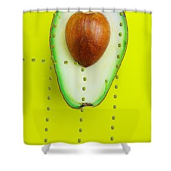 Shower Curtain featuring the photograph Hunters Depicting Rutherford Atomic Model By Avocado Food Physics by Paul Ge