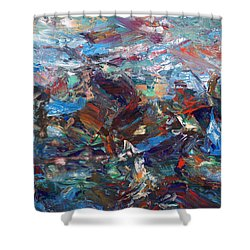 Hurricane Shower Curtain by James W Johnson